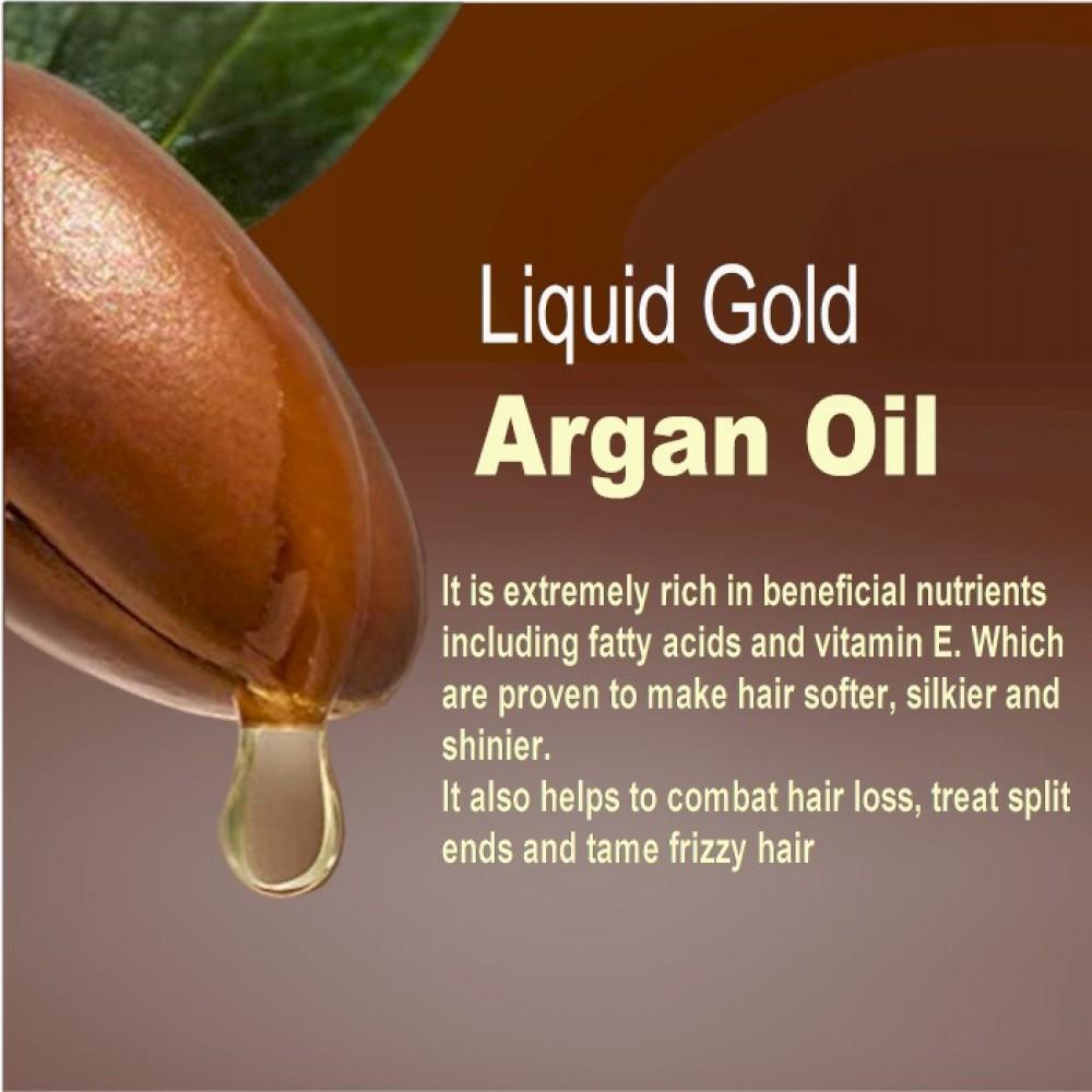 Organic Moroccan Argan Oil Shampoo and Conditioner Set