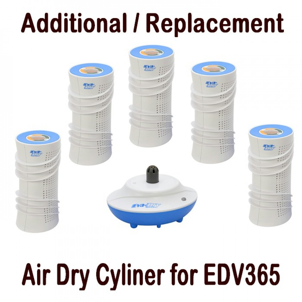 Air Dry Cylinder (Additional / Replacement cylinder for EDV365)